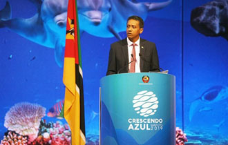 President Faure delivers Keynote Address at Blue Economy Conference in Mozambique