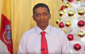 Christmas Message 2017 by President of the Republic of Seychelles Mr Danny Faure